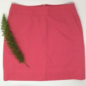 Talbots Stunning Pink Lined Pencil Skirt Size 4P